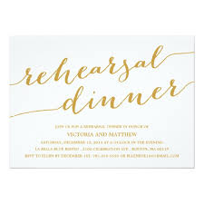 dinner invitation modern calligraphy rehearsal dinner invitation zazzle