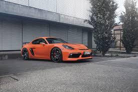 porsche orange orange car porsche techart 718 cayman 2017 wallpapers and images