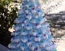 ceramic light up christmas tree ceramic christmas etsy