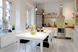 Title Inspiring White Interior Apartment Kitchen Home Interior - European apartment design