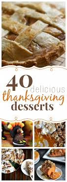 40 thanksgiving dessert recipes thanksgiving