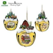 deere kimekomi quilted ornament by craftcrazy4u