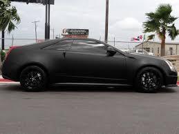 matte black cadillac cts v 2011 cadillac cts v base coupe gps nav supercharged matte black