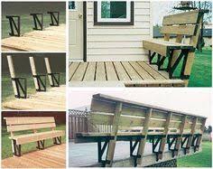 Metal Deck Bench Brackets - hopkins 90172 2x4basics dekmate bench bracket black 2 pack want
