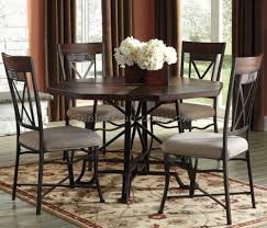 Hayley Dining Room Set Table Works Well In A Long Narrow Room It Leaves More Room 9 Pc