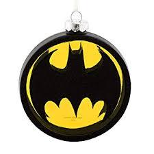 hallmark dc comics batman bat signal blown glass
