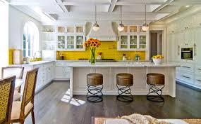 backsplash for yellow kitchen yellow kitchen features