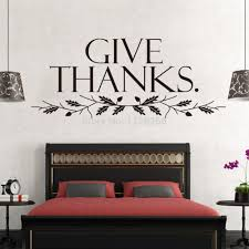 aliexpress com buy removable wall sticker quotes give thanks aliexpress com buy removable wall sticker quotes give thanks wall art decorative decals room decor from reliable decorative mirror wall stickers suppliers