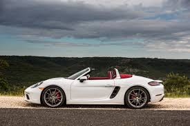 new porsche 2017 porsche 718 boxster is the sleekest sports car on the market