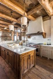 cuisine bois rustique cuisine cuisine rustique moderne idã es qui rã veilleront votre