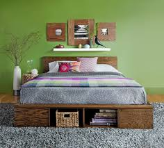 Making A Platform Bed by Home Dzine Bedrooms Make A Platform Bed