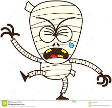 cute halloween mummy clip art cute halloween mummy crying and sobbing stock vector image 45348173