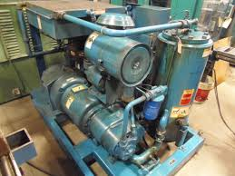 100 psi quincy air compressor helical model qsi 245 1993