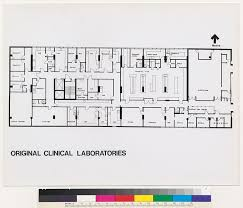 Laboratory Floor Plan Mt Zion Hospital And Medical Center Original Clinical