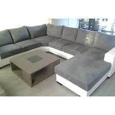 canapé gris et blanc pas cher canapé 6 places gris meuble et déco