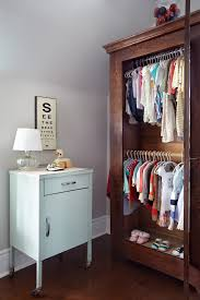 coat closet armoire nursery contemporary with baby clothes baby