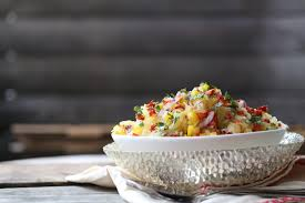 easy spaghetti squash salad recipe whole new mom
