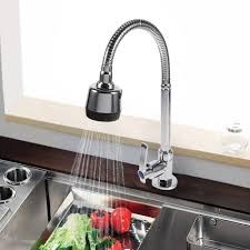 Kitchen Faucets Single Hole by Online Get Cheap Spray Kitchen Faucet Aliexpress Com Alibaba Group