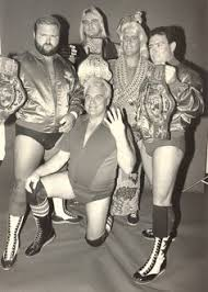 wwe four horsemen at target black friday arn anderson shoots on the four horsemen nearly joining wwf wwe