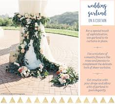 15 ways to hang a wedding garland you wish you thought of ftd com