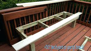 how to build deck bench seating bench astonishing how to build incline bench hypnotizing how to