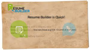 Online Resume Creator by Online Resume Builder With 118 Resume Templates Easy Quick
