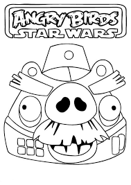 drawing angry birds star wars coloring pages batch coloring