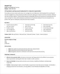 Youth Worker Resume First Job Resume 7 Free Word Pdf Documents Download Free
