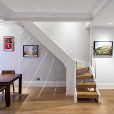 Glass Stair Rail by Modern Staircase Decorating Ideas Staircase Contemporary With Dark
