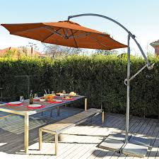 oversized patio umbrella coolaroo 12 ft round cantilever patio umbrella walmart com