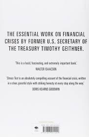 stress test reflections on financial crises amazon co uk
