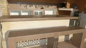 plan de travail cuisine beton comment refaire un plan de travail en béton ciré sur du carrelage
