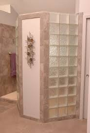 Walk In Bathroom Ideas by Doorless Shower This Doorless Walk In Shower Design Has A Glass