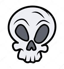 Halloween Skull Drawings Simple Skull Tattoo U2014 Stock Vector Baavli 29806199