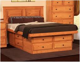Platform Bed King Plans Free by Bedroom Platform Storage Bed Plans Free Image Of Zayley Bookcase