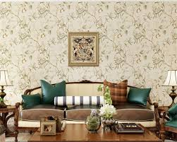 beibehang pastoral flocking non woven wallpaper vinyl home decor