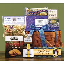 Scotch Gift Basket Gift Hampers Scottish Gourmet