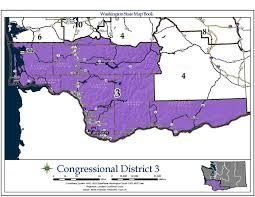 washington u0027s 3rd congressional district wikipedia