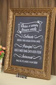 Famosos Quadro para casamento no Elo7 | Barse Casamentos (58E43A) &TC13