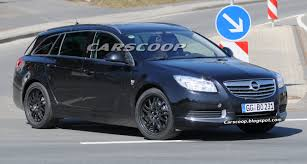 opel insignia 2015 opc spy shots opel insignia opc sports tourer u2013 undisguised