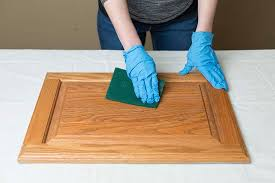 How To Touch Up Wood Cabinets Get The Look Of New Kitchen Cabinets The Easy Way