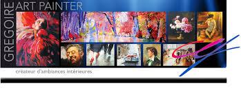 Toiles Contemporaines Design Gregoire Art Painter Peintures Contemporaines