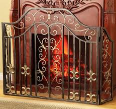 fireplace fireplace spark screen fireplace glass doors with