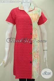 desain baju batik halus batik jawa halus kombinasi warna berkelas model baju batik modern 2018