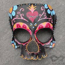 bead mask black sugar skull mask by beadmask on deviantart