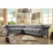 Sectional Sofas Bay Area Moser Bay Furniture Tufted 6 Seat Sectional Sofa