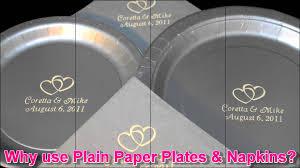 personalized baby shower wedding birthday cake plates napkins