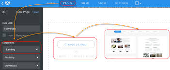 create landing pages in weebly webnots