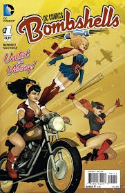 dc bombshells builds a feminist story from pin up superhero designs