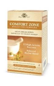 Southern Comfort Zone Comfort Zone Digestive Complex Vegetable Capsules Solgar Vitamins